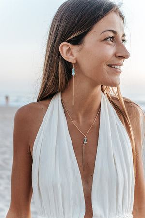 Sea & Sky Necklace - Christiana Layman Designs
