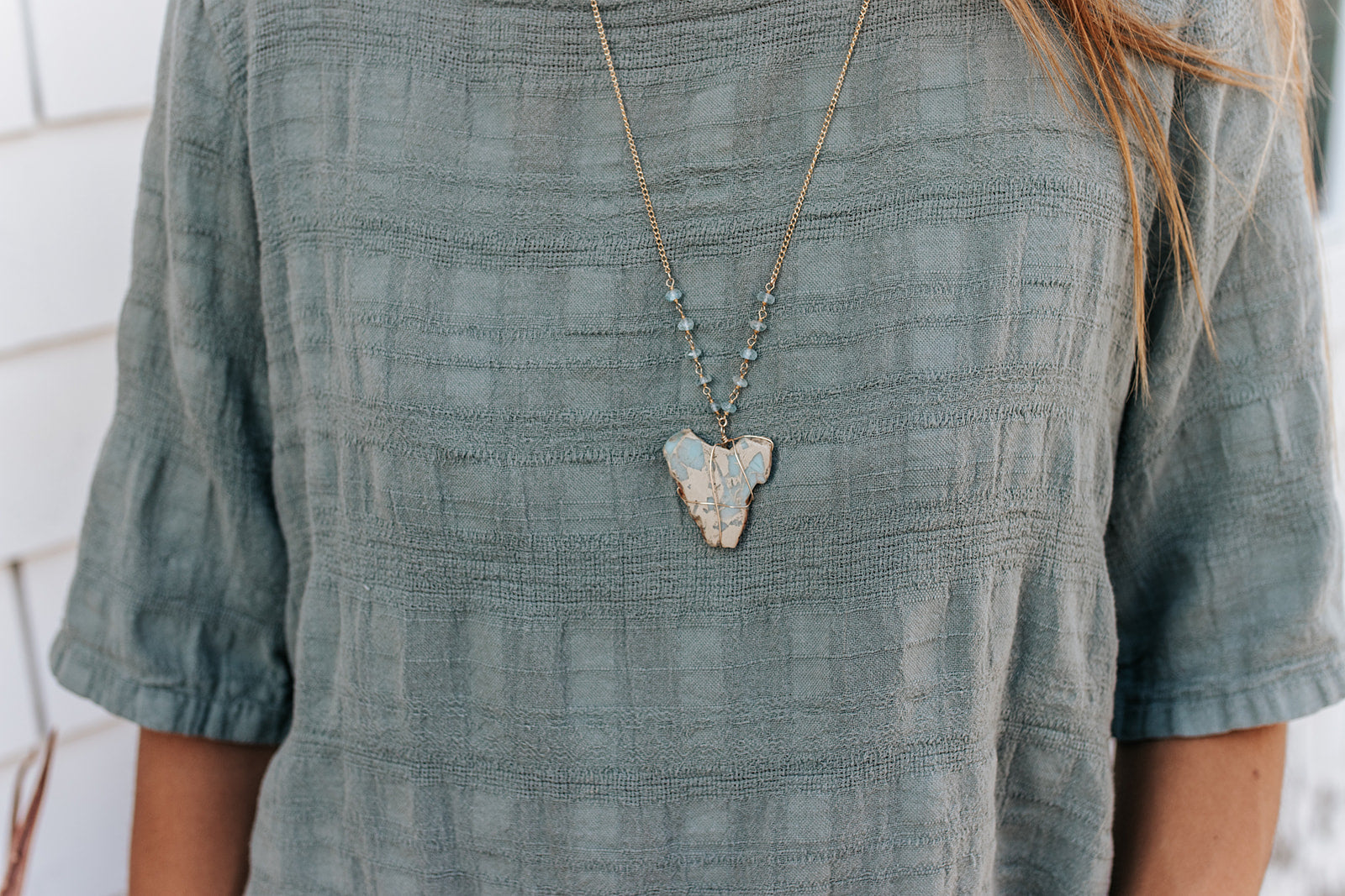 Mother Earth Necklace - Christiana Layman Designs