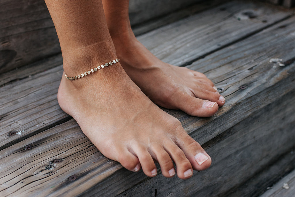 The Serafina Anklet In Gold