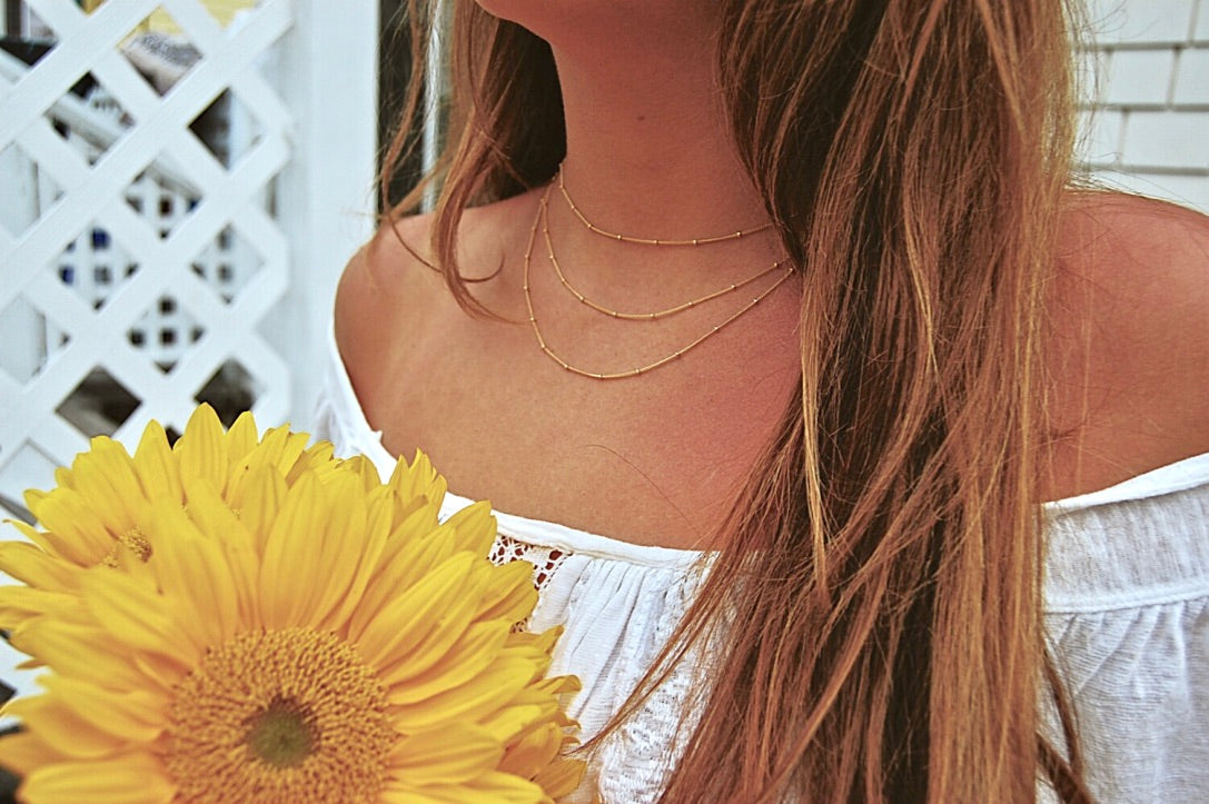 Sun Drenched in Sorrento Necklace