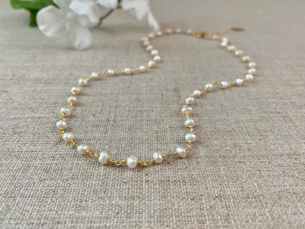 Timeless Pearl Necklace