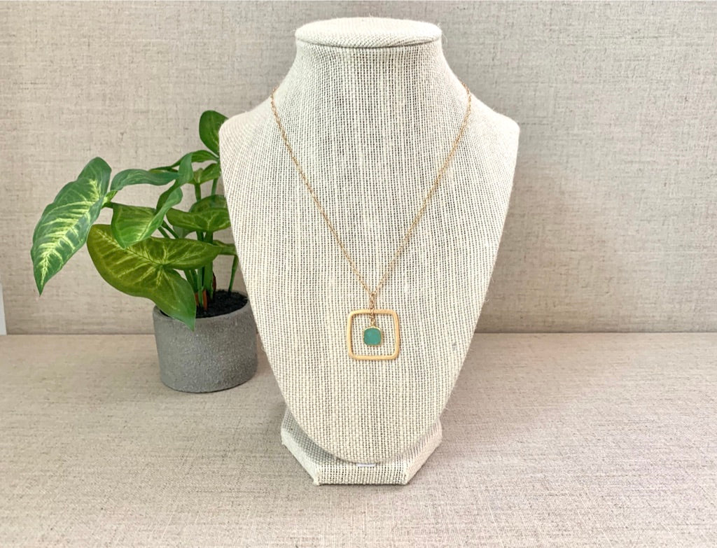 Green Flash Necklace - Christiana Layman Designs
