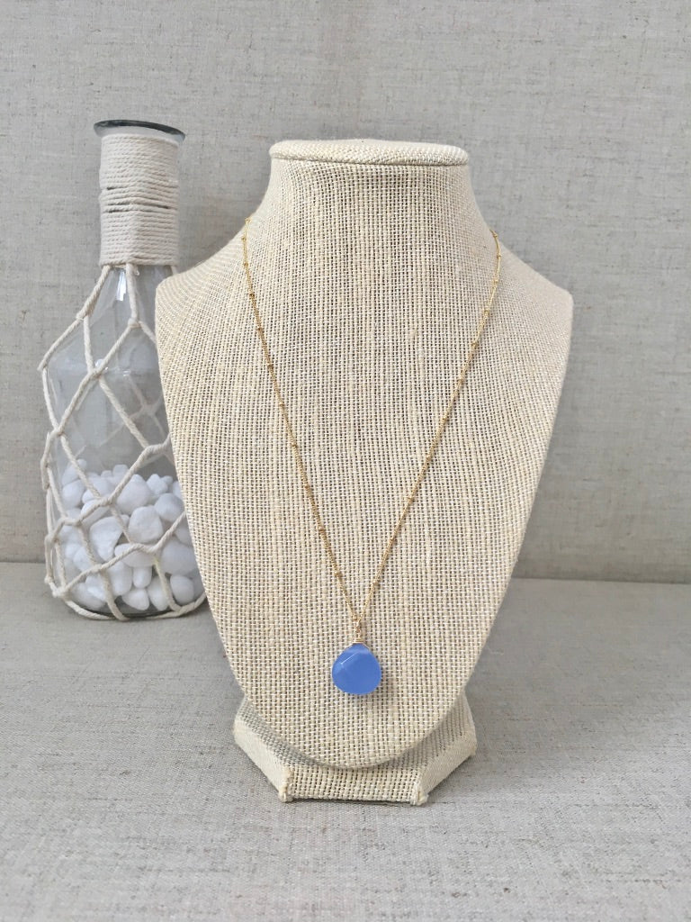 Clear Your Mind Necklace - Periwinkle
