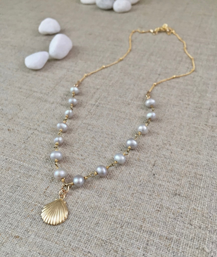 White Sand Beach Necklace