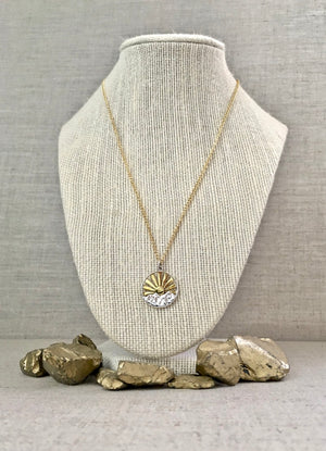 Simply Beaming Necklace - Gold - Christiana Layman Designs