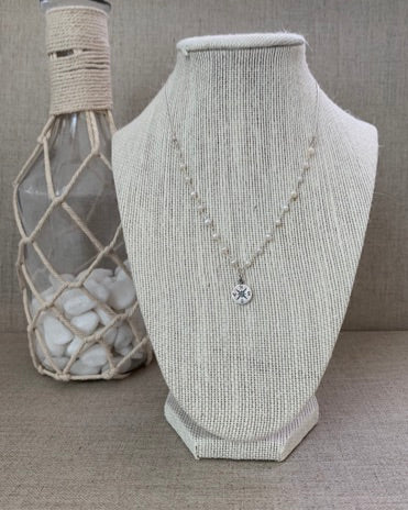 The Seafarer's Wife Necklace in Silver - Christiana Layman Designs