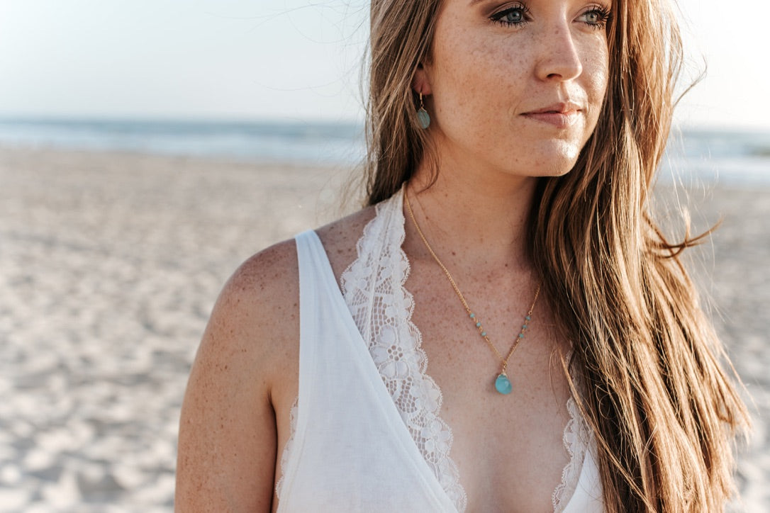 Ocean Drive Necklace - Christiana Layman Designs