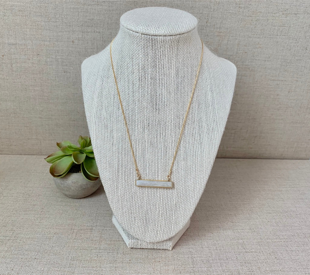 Marine Layer Necklace in Moonstone - Christiana Layman Designs