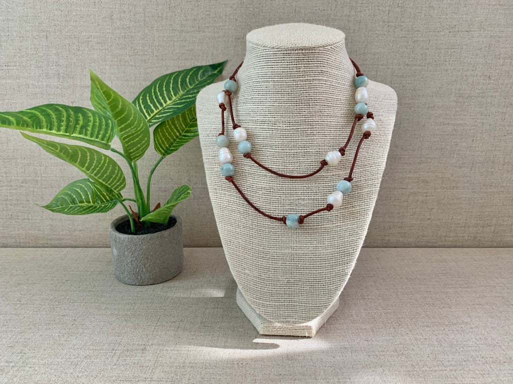 Transcontinental Necklace - Christiana Layman Designs