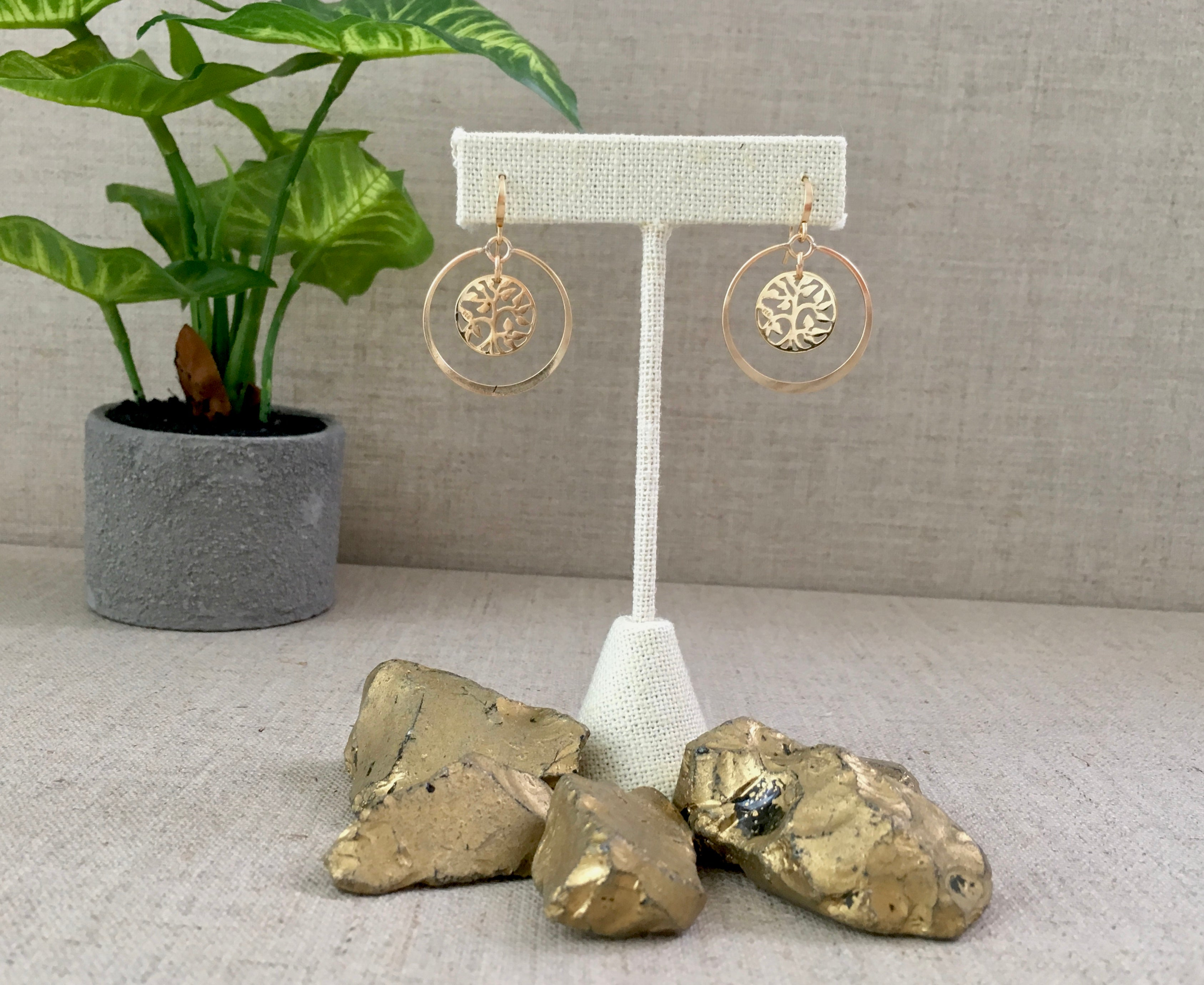 Rooted Earrings
