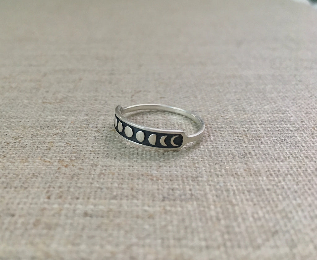 Moonphase Ring - Christiana Layman Designs