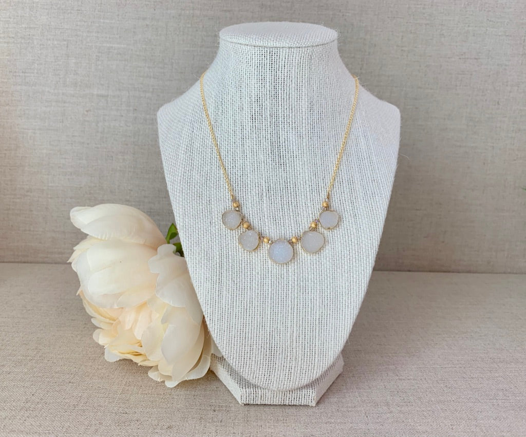 Lily Pad Necklace - Christiana Layman Designs