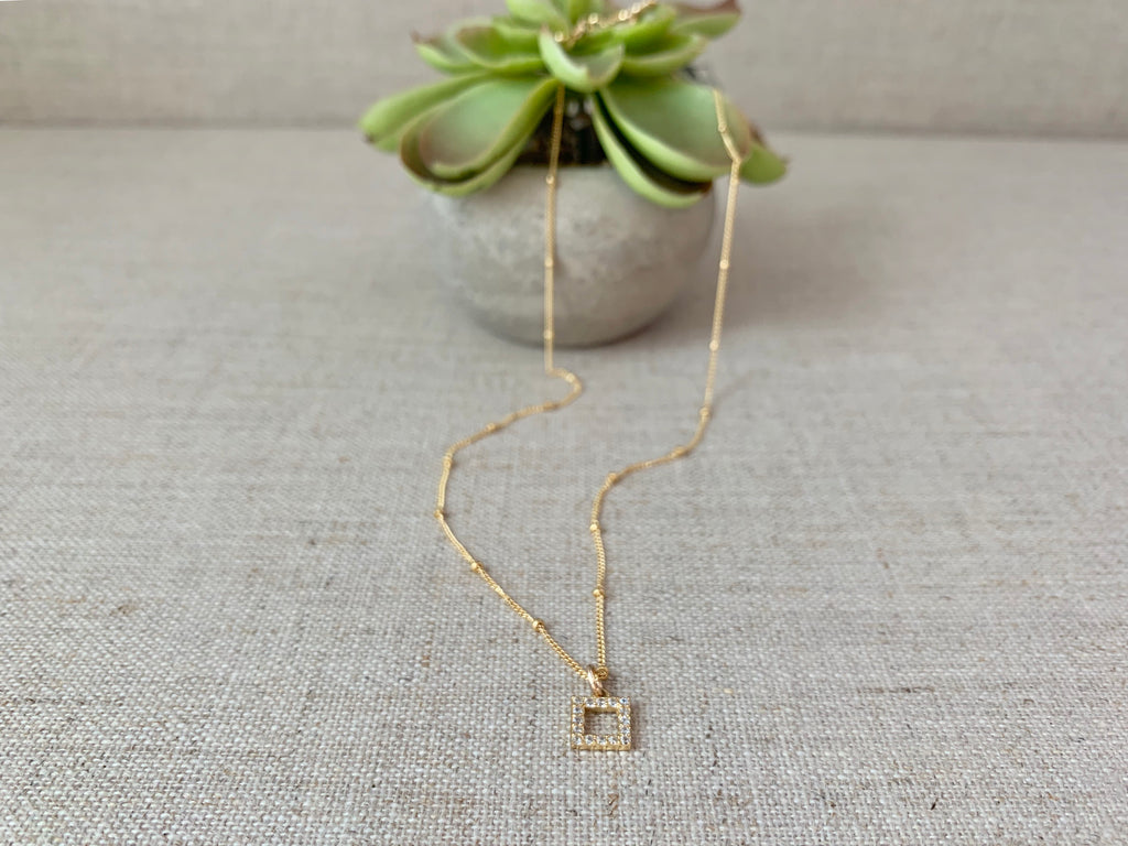 At Your Leisure Necklace in Gold - Christiana Layman Designs