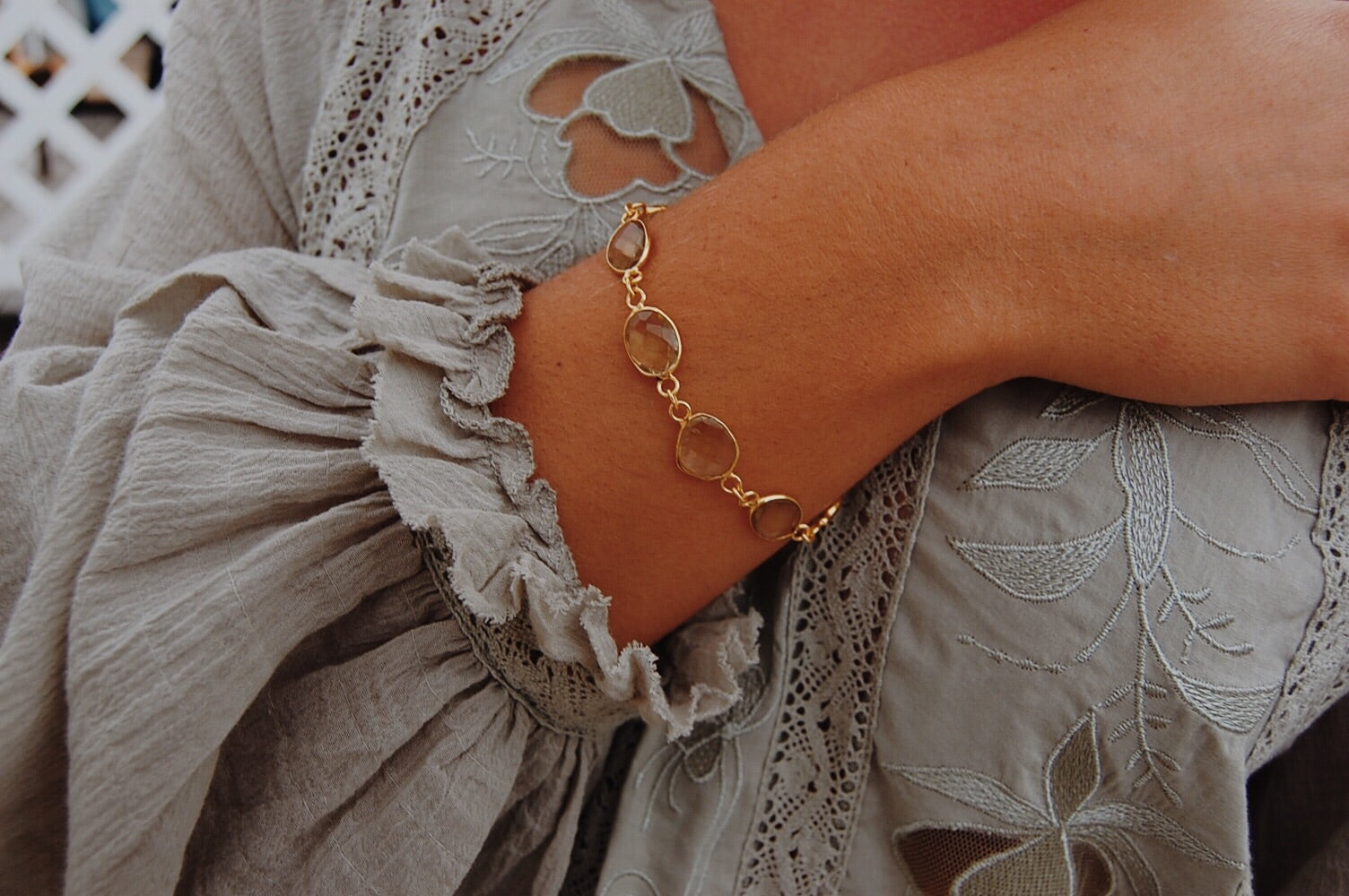 An Olive Branch Bracelet - Christiana Layman Designs