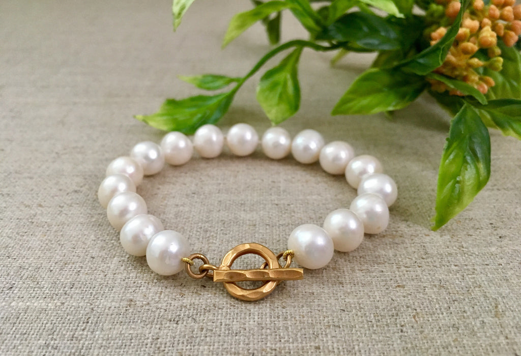 The Classic Pearl Bracelet - Christiana Layman Designs