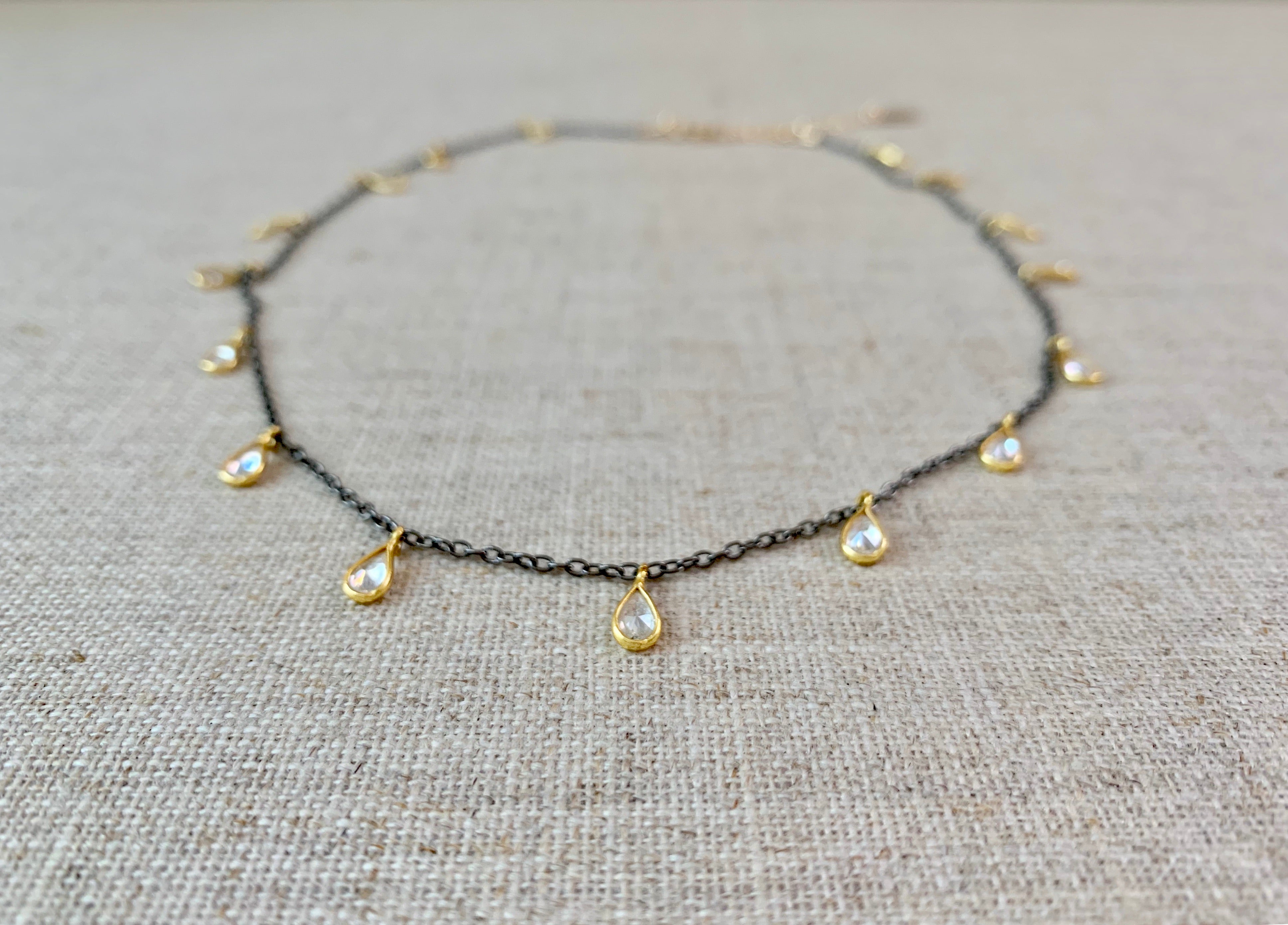 Secrets of the Orient Choker - Christiana Layman Designs