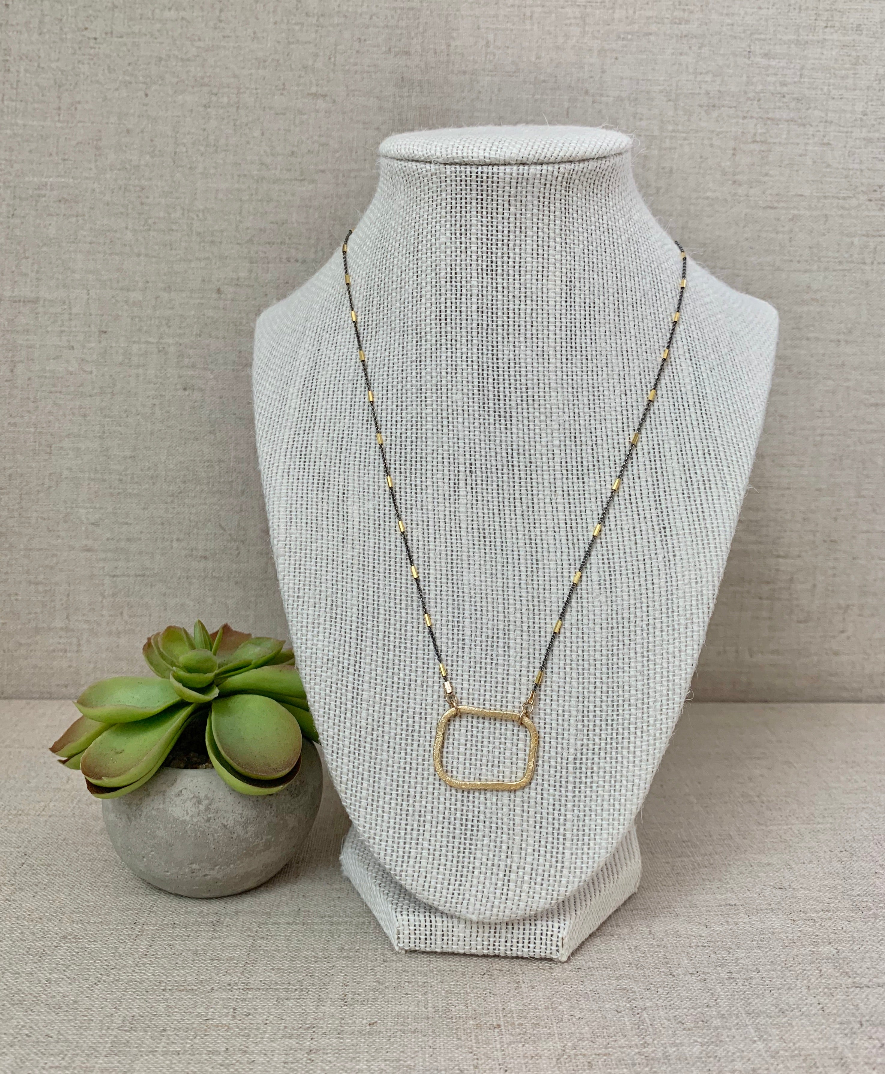 The Brooklyn Bridge Necklace - Christiana Layman Designs