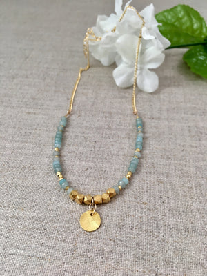 Beachside in Corsica Necklace - Christiana Layman Designs