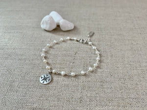 The Seafarer's Wife Bracelet in Silver - Christiana Layman Designs