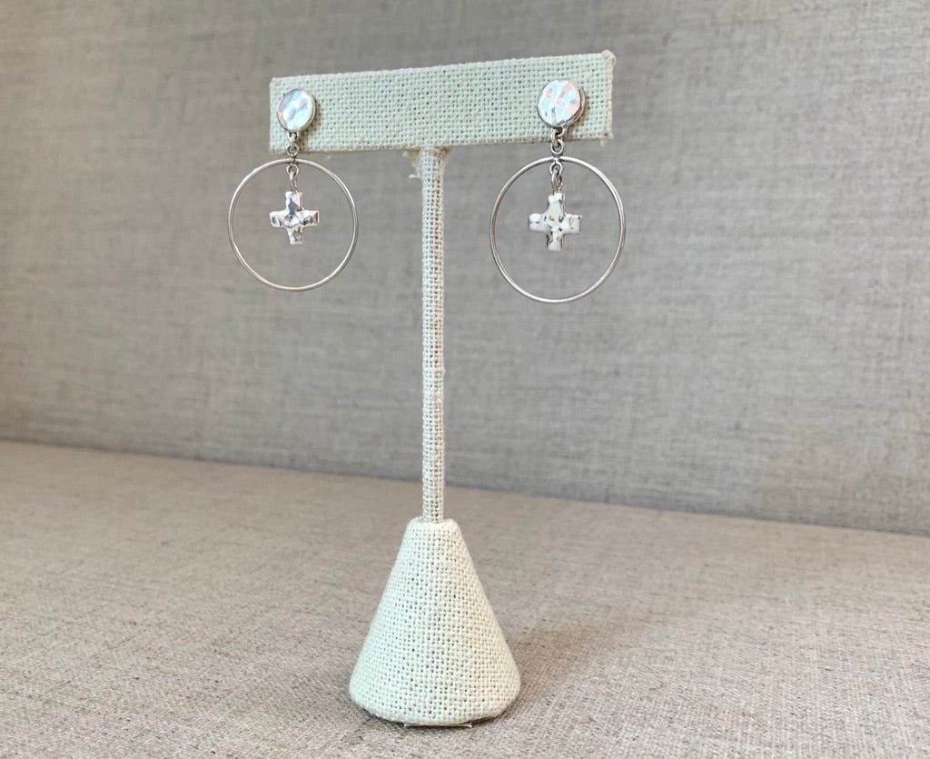 Silver Chalice Earrings - Christiana Layman Designs