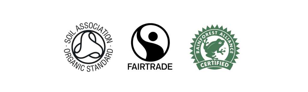 organic and fairtrade coffees