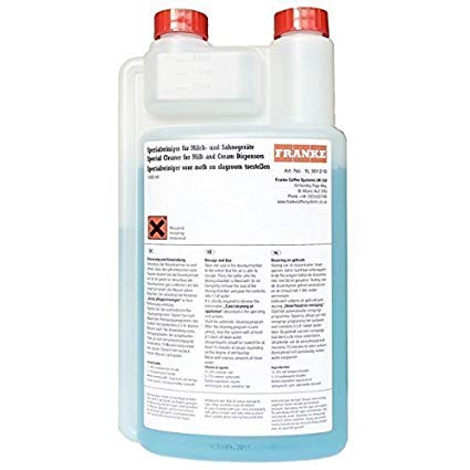 Franke Milk System Cleaner (1 Litre and 5 Litre)