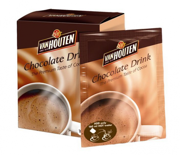 Van Houten Hot Chocolate Sachets
