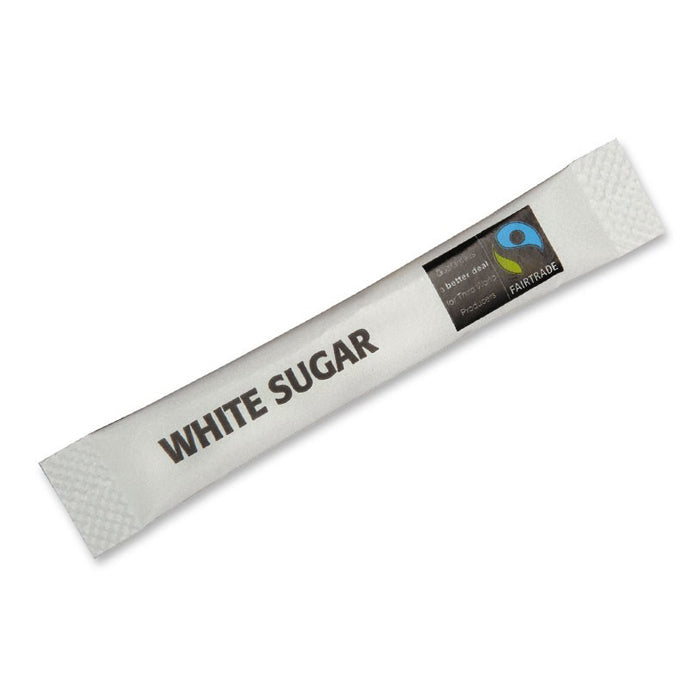 Fairtrade White Sugar Sticks