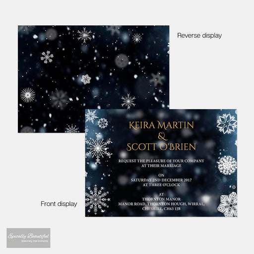 Wedding Invitations | Crystallize Suite