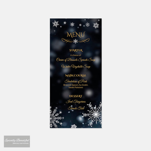 Menu Cards | Crystallize Suite