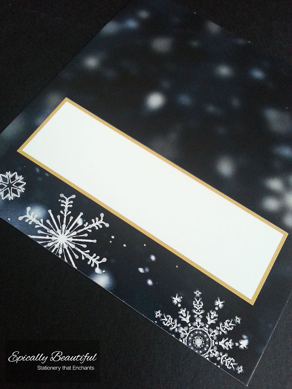 Name Place Cards (Blank) | Crystallize Suite