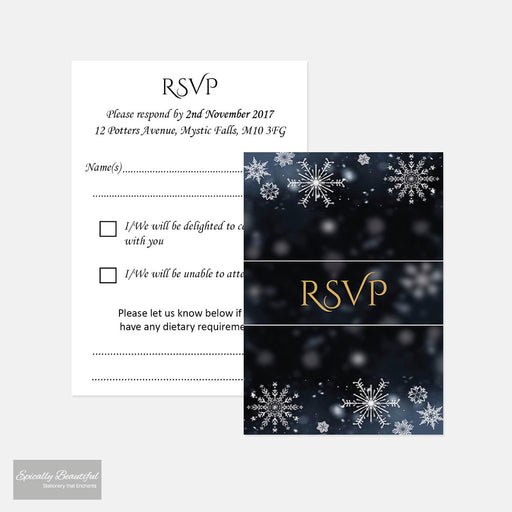 RSVP Cards | Crystallize Suite
