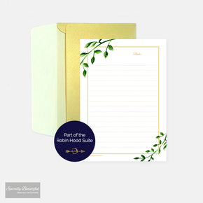 Robin Hood Writing Paper Set | Robin Hood Suite