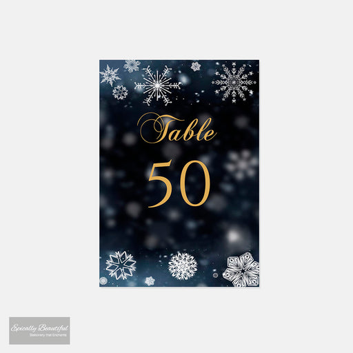 Table Number Cards | Crystallize Suite