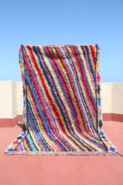 Moroccan Azilal  Colorful Rug // 266 x 163cm