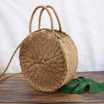 Summer Straw Bag for Women