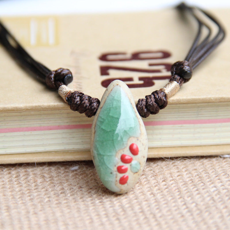 Ceramic Necklace Bohemian Style