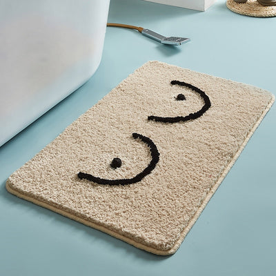 GET NAKED - BREAST Bathmat