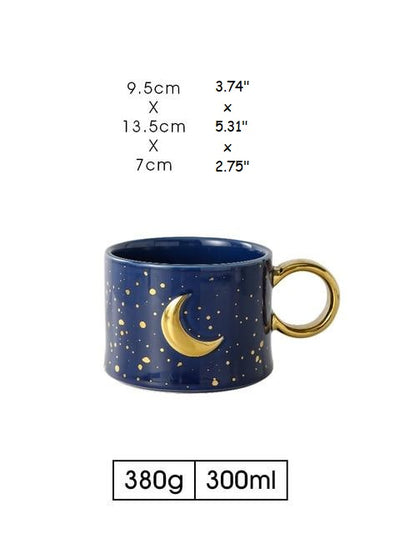 GOLDEN MOON / SUN MUG