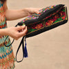 Artisanal Summer Cotton Clutch