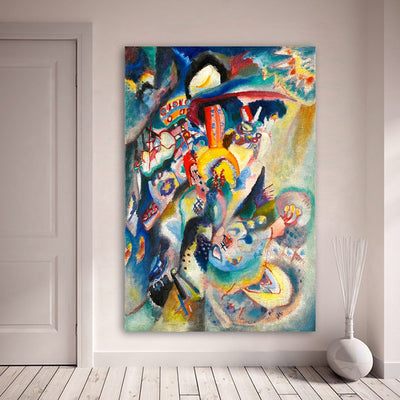 Abstract Oil Painting Canvas Prints