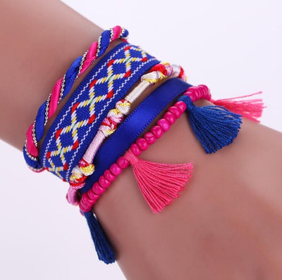summer leather bracelet