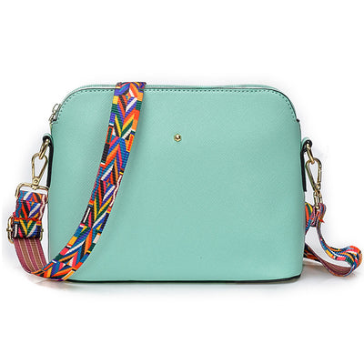 Artisanal Candy Color Handbags