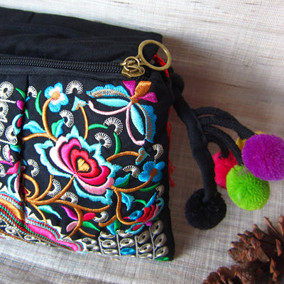 Embroidery tassel ARisol Bag
