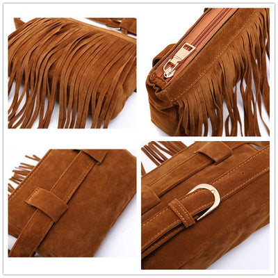 Tassel Shoulder Bag