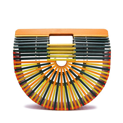 colorful Bamboo Tote