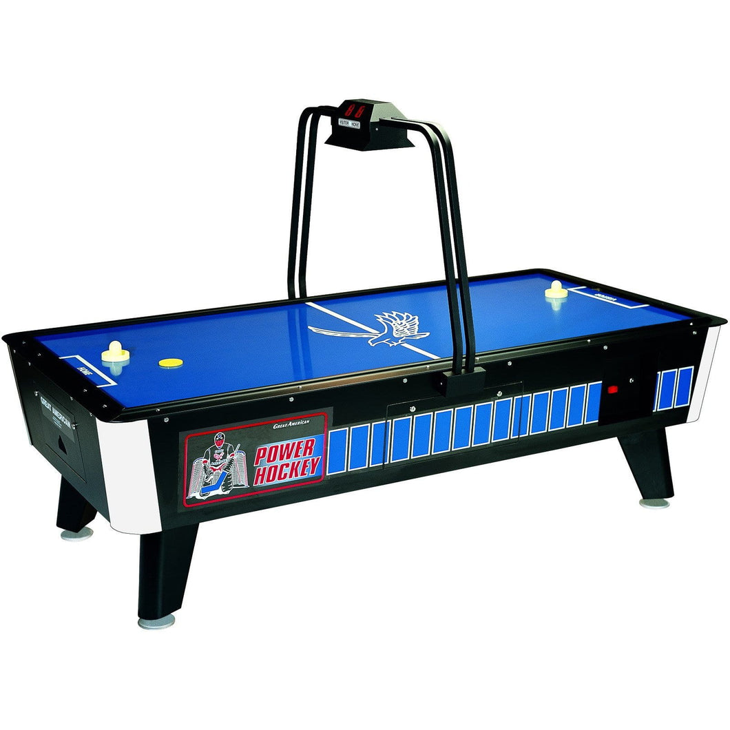 8' Power Hockey Overhead Coin Operated - titos-table-game