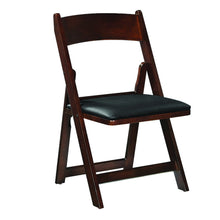 FOLDING GAME CHAIR - BLACK - titos-table-game