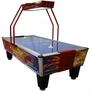 GOLD FLARE HOME ELITE AIR HOCKEY TABLE - titos-table-game