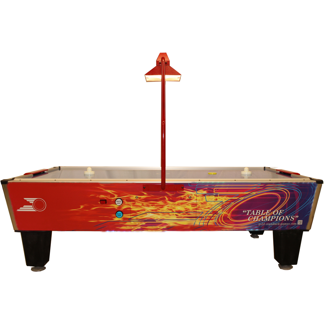 GOLD PRO PLUS AIR HOCKEY TABLE - titos-table-game